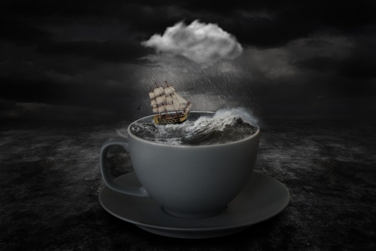 A storm in a tea-cup